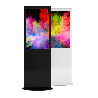 Multitouch-Stele Digital Signage Hardware